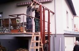 Stavba zahradní treláže