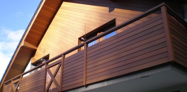 Dřevěné obložení- dřevina cedr